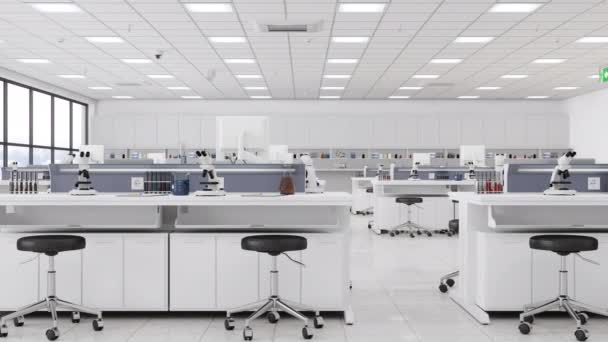 High Tech Laboratory Interior