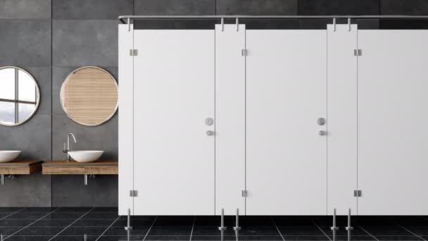 Nyilvános mosdó belső videó