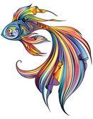 Photo abstract Fish illustration