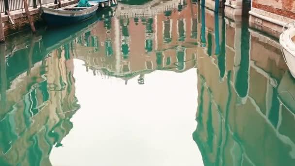 Benátský kanál na jaře