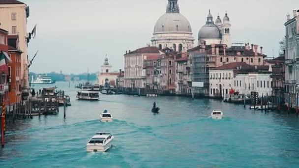 gyönyörű kilátás nyílik a canal grande, Velence, Olaszország