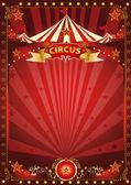 jó piros cirkuszi plakát