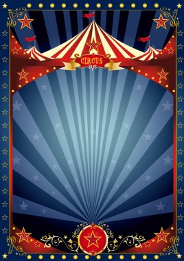 Fun night circus poster