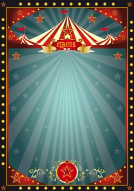 Black fun circus