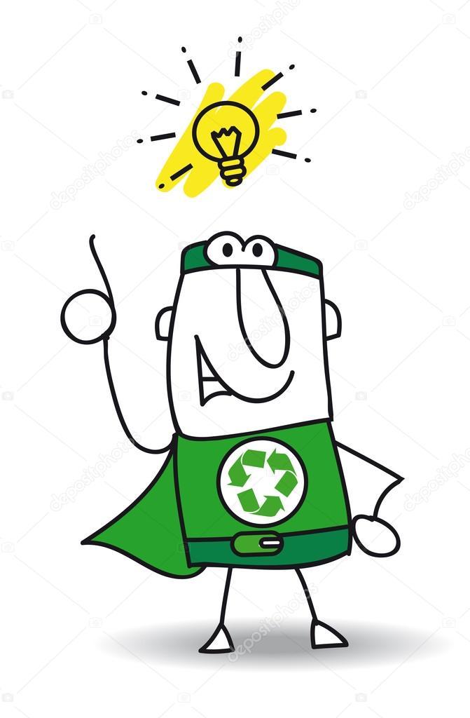 Good idea Super Recycling Hero