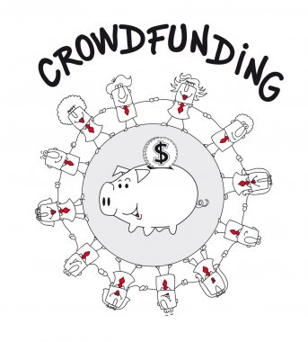 Crowd funding is a solution
