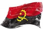 Angolai grunge zászló