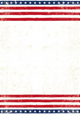 American dirty Flag  poster