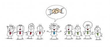 Mediation between two working teams