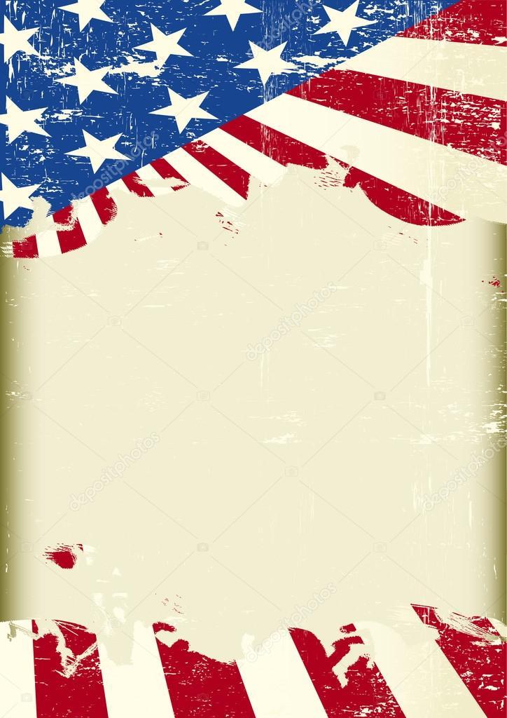 american flag frame — Stock Vector © tintin75 #95149348