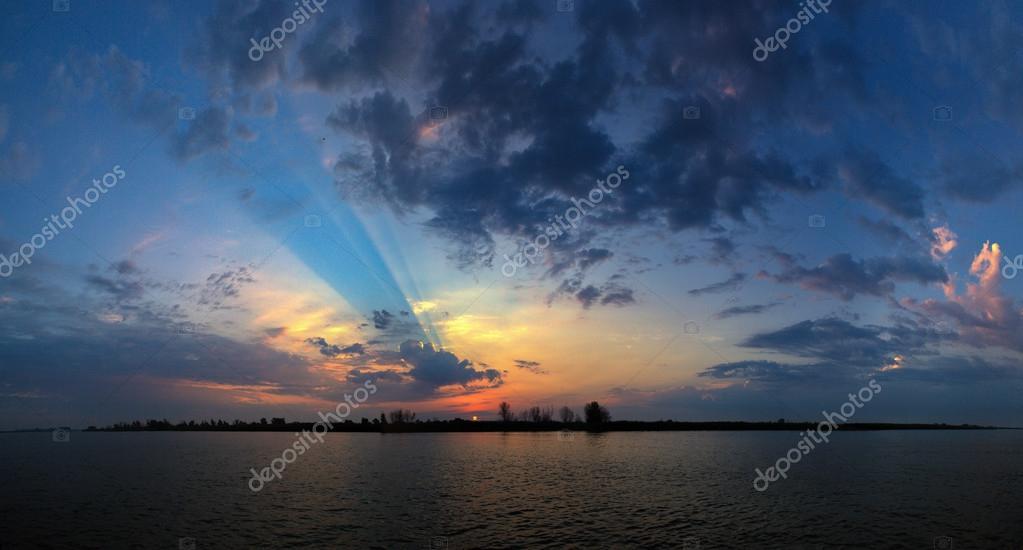 Sunrise Astrakhan