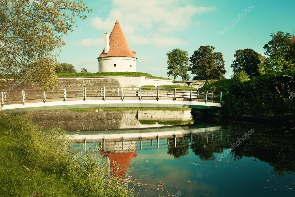 Estonia, Saaremaa, Kuressaare castle