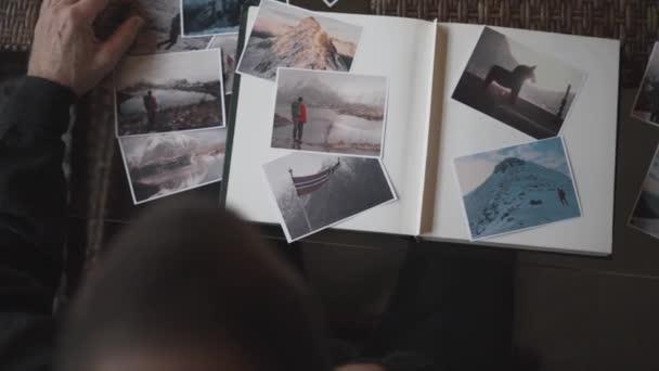 Man kitöltése Photo Album képekkel