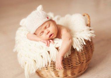 Newborn one week old