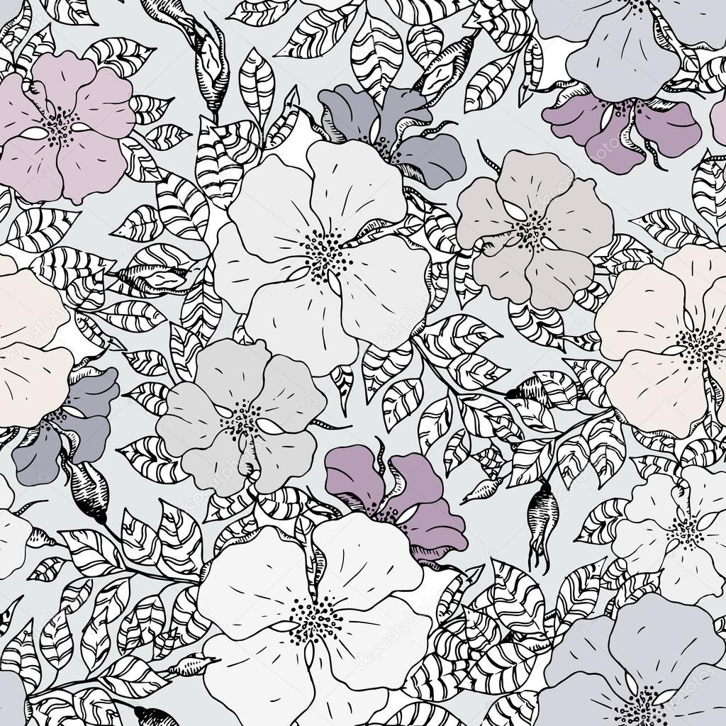texture motif fleur graphique vintage image vectorielle lemuana 64764005. Black Bedroom Furniture Sets. Home Design Ideas