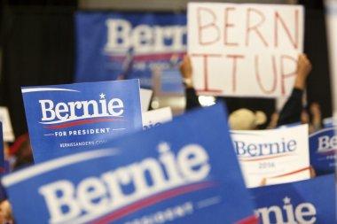 Bernie Sanders Rally Signs