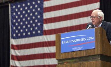 Senator Bernie Sanders Campaigning