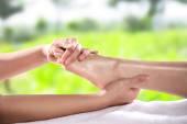 Fotografie Healthy Foot Massage