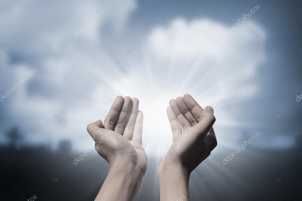 Imágenes Orando A Dios Manos Orando A Dios Foto De Stock