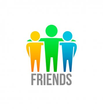 Friends icon design