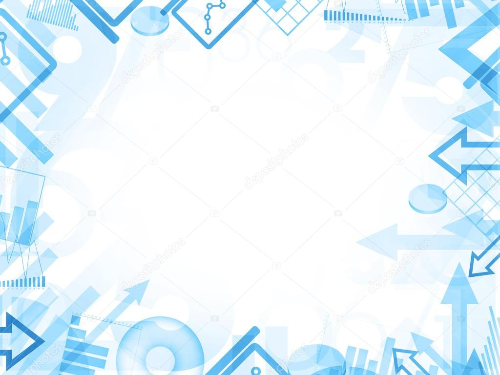Abstract Statistics Blue Background Frame Border Illustration Photo By Pixeldreams