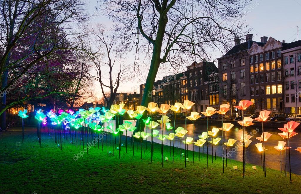 Licht Tour Amsterdam : Licht festival in amsterdam u redaktionelles stockfoto hansenn