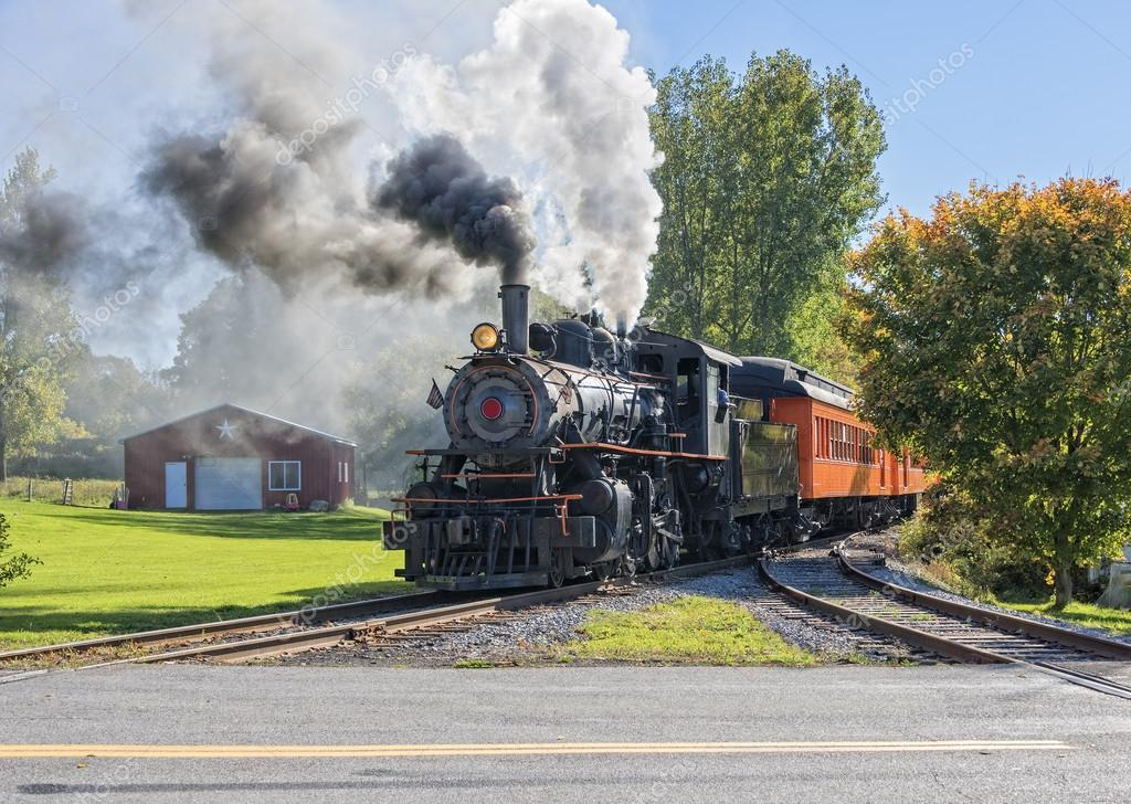 Old Vintage Steam Engine