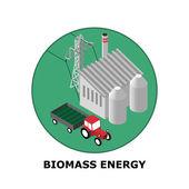 Fotografie Energie aus Biomasse