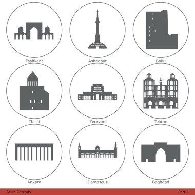 Asian Capitals (Part 4)