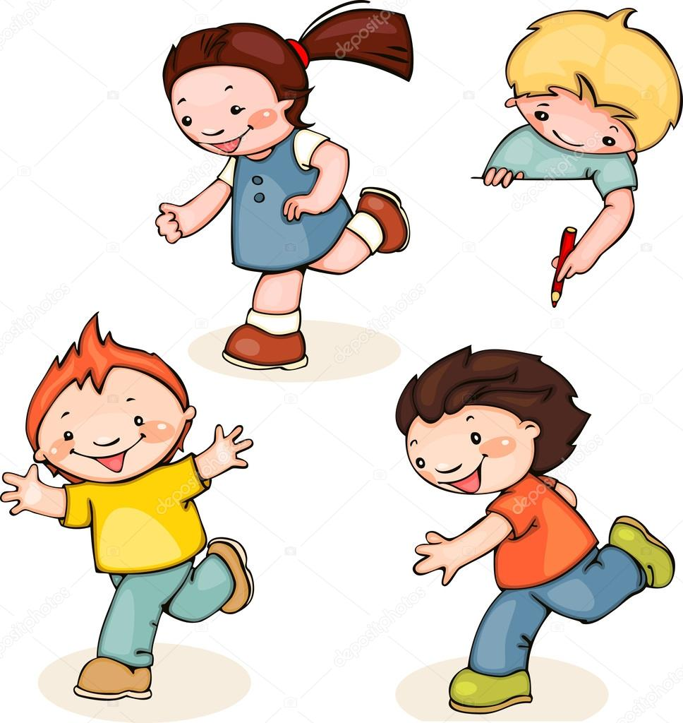 Kids Cartoon Show Boy And Girl