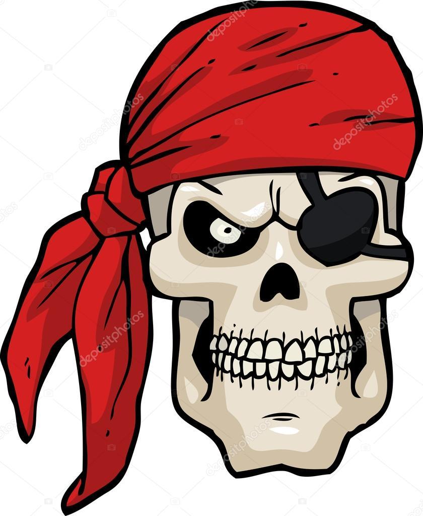 Dibujos Calaveras Piratas Calavera Pirata De Dibujos Animados