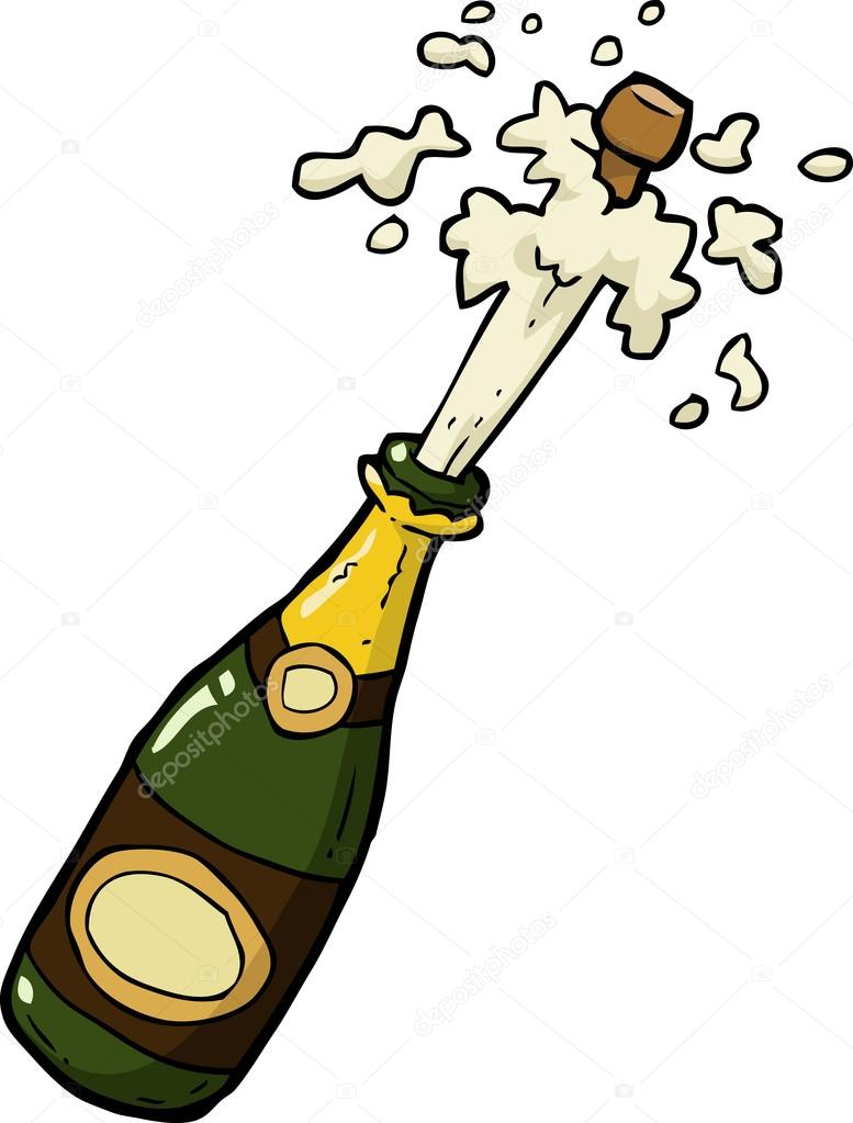 Мультяшное шампанское картинки