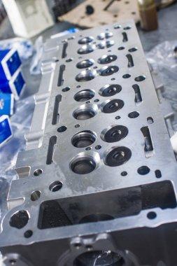 New cylinder head of a diesel engine