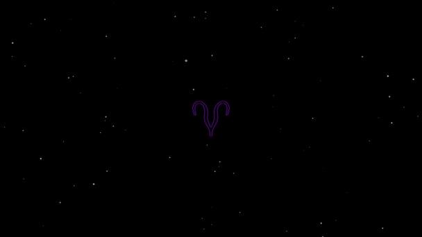 Widder Violet Outline Black Background Stock Video ist ein großartiger Videoclip. Dieser 1920x1080 (HD) Videoclip kann in jedem Projekt verwendet werden. Dieses Material wird bei Ihrem nächsten Schnitt, Projekt oder Film großartig aussehen.