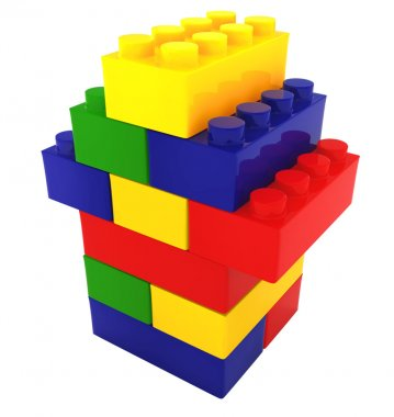 color block house