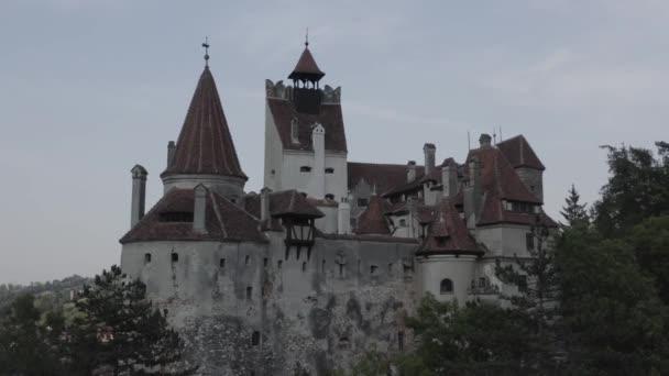 Flight over Bran Castle, Transylvania Romania