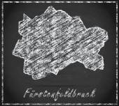 Fotografie Karte von Fürstenfeldbruck