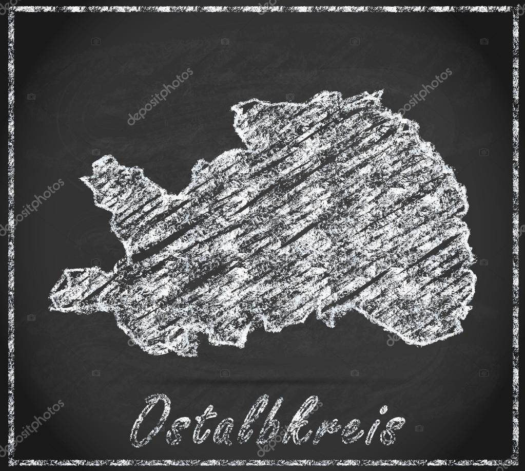 Ostalbkreis Karte.Karte Von Ostalbkreis Stockfoto Artalis 60703151