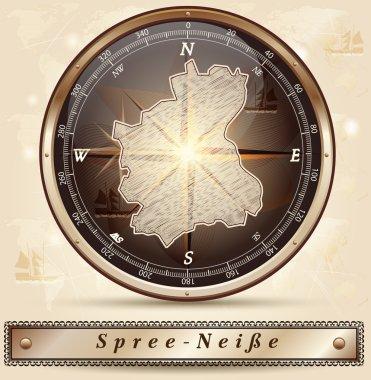 Map of Spree-Neisse