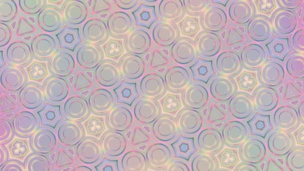 Abstrakte irisierende Form symmetrischer Hintergrund.