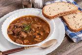 Fotografie gulášová polévka