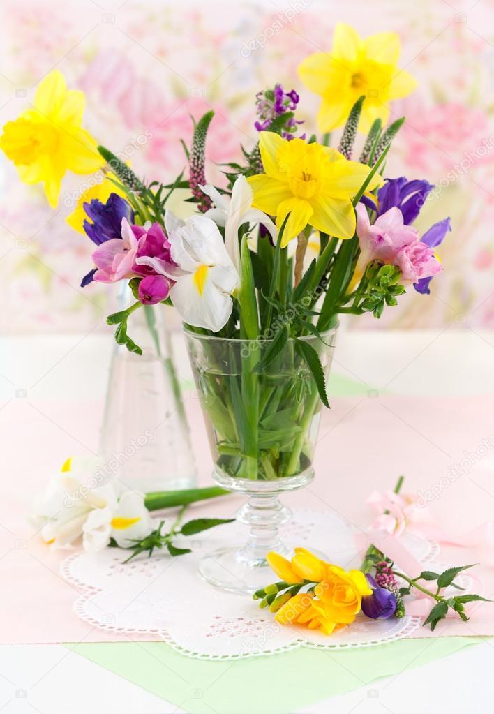 Fleurs de printemps frais — Photo