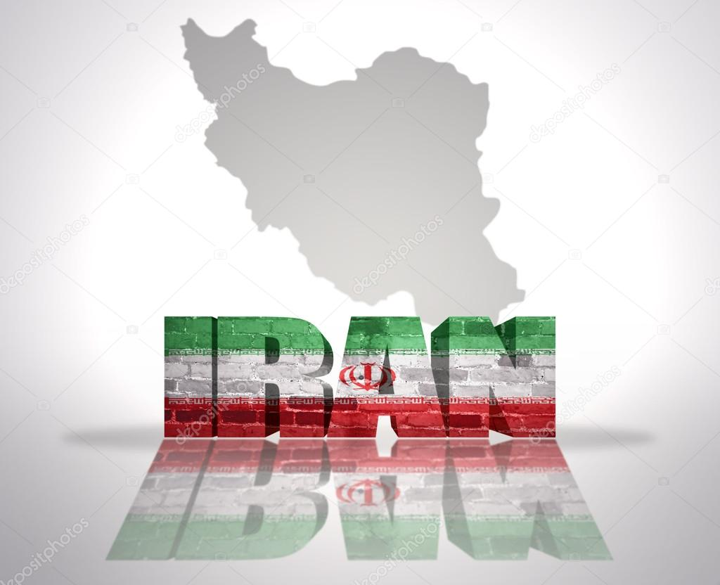 Word iran on a map background stock photo ruletkka 58976005 word iran with national flag near map of iran photo by ruletkka gumiabroncs Image collections