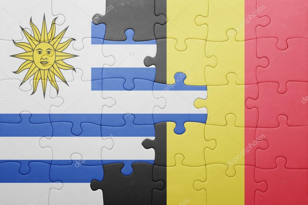 Bandera De Uruguay Para Imprimir Rompecabezas Con La Bandera