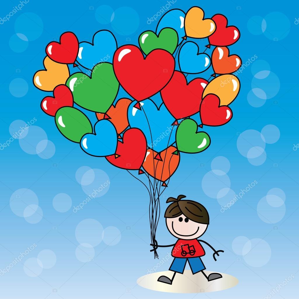 Joyeux Anniversaire Ou Saint Valentin Image Vectorielle Popocorn