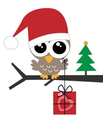 Merry christmas happy holidays clip art vector