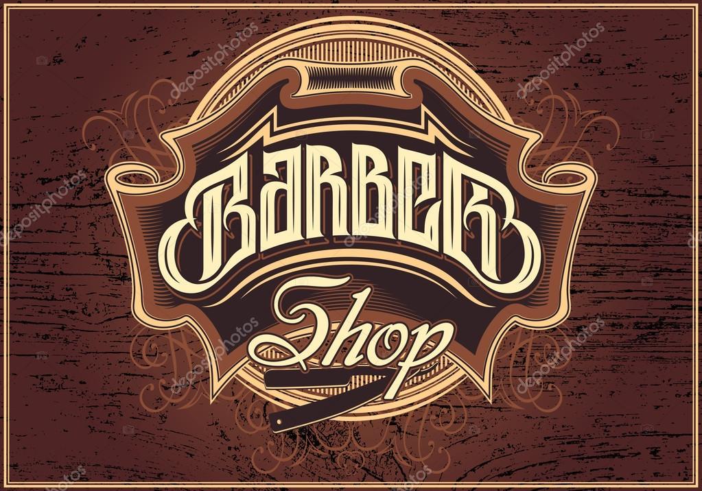 sign for a barber shop
