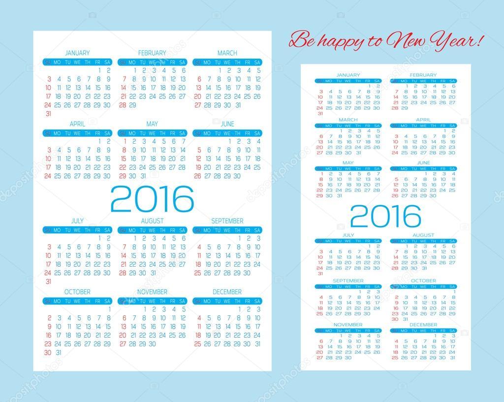Vorlagen Für Kalender Taschenkalender Und Visitenkarten