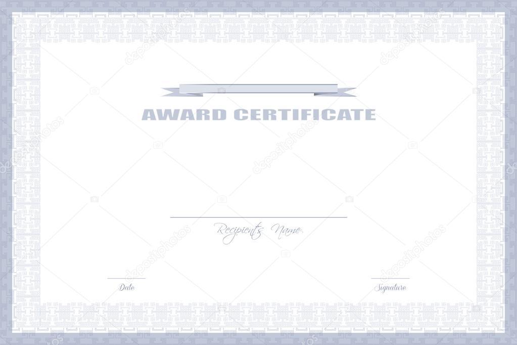 Award Certificate Design Stock Vector Zarja 87427780
