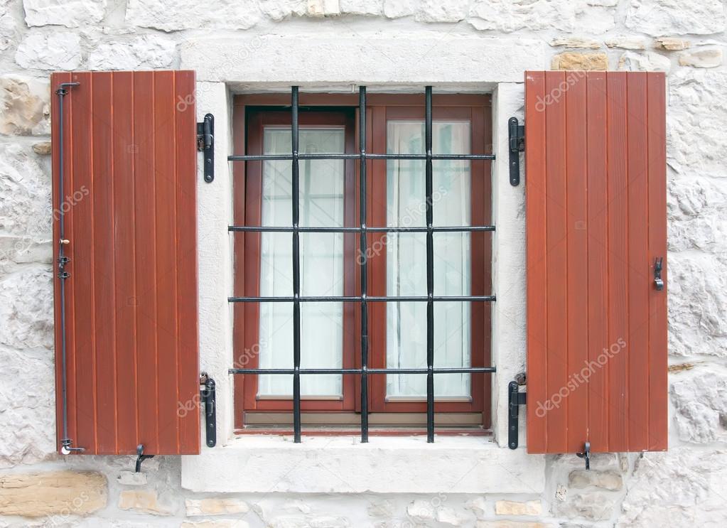 Fenster Gitter U2014 Stockfoto